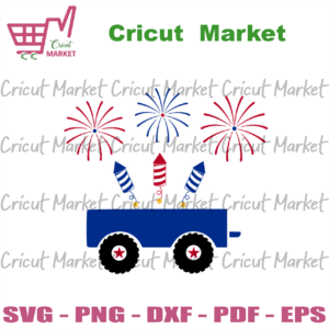 4th of july jeep with fireworks svg, independence day svg, 4th of july svg, jeep svg, fireworks svg, patriotic svg, america flag, independence day gift, 4th july svg, rockets svg, stars svg, diy crafts, svg files, silhouette files