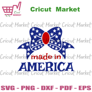 4th of july made in america svg, independence day svg, 4th of july svg, made in svg, patriotic svg, america flag, independence day gift, 4th july svg, blue ribbon svg, stars svg, diy crafts, svg files, silhouette files, cameo htv