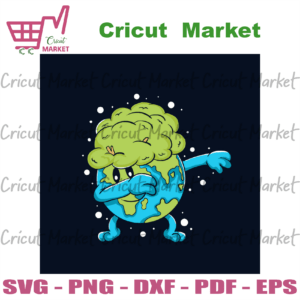 Dabbing Earth Svg, Trending Svg, Earth Svg, The Earth Day Svg, Earth Day Gifts Svg, Happy Earth Day Svg, Earth Love Svg, Earth Gifts Svg, Protect Earth Svg, Dabbing Style Svg, Green Earth Svg