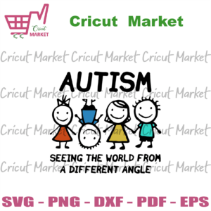 Autism Seeing The World From A Different Angle 2020 SVG, Awareness Svg, Autism Awareness Svg, Autism Children Svg, Different Abilities Svg, Autism Family Svg, Angle Svg, Autism Gift Svg, Autism Awareness Day Svg