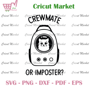 Crewmate Or Imposter Questions Svg, Among Us Svg, Sus Svg